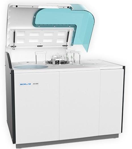 Analisador Bioquímica totalmente automático AS-800